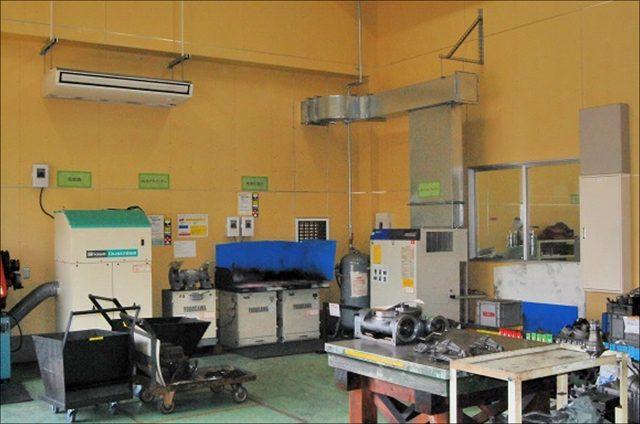 素材検査室