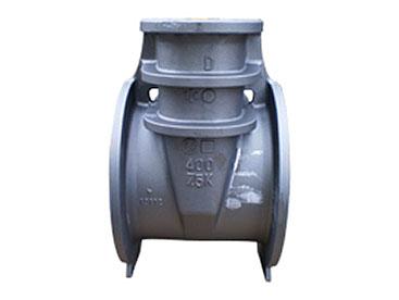 上水バルブ 330kg FCD450 フラン