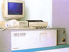 真空形発光分析装置
